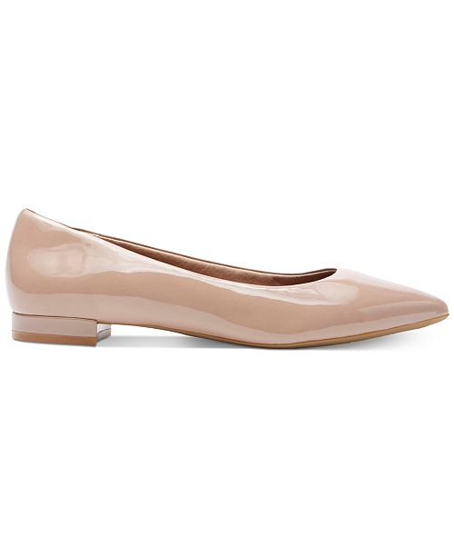 75e0c6d62159d Rockport Women's Total Motion Adelyn Pointed-Toe Flats & Reviews ...