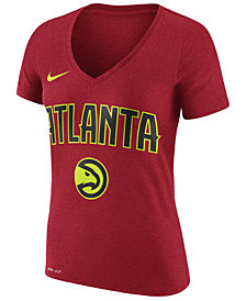 Nike Women's Atlanta Hawks Wordmark T-Shirt