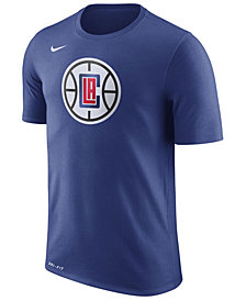 Nike Men's Los Angeles Clippers Dri-FIT Cotton Logo T-Shirt