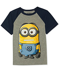 Despicable Me Minion-Print T-Shirt, Little Boys