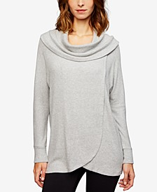 Cowl-Neck Nursing Top