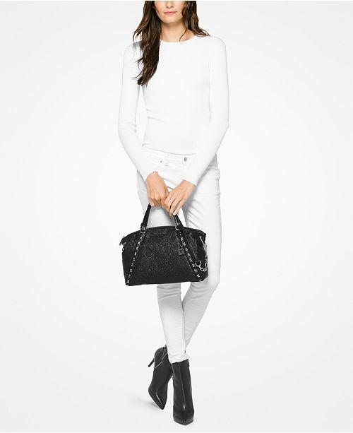 1e7f98b6d3f0 Michael Kors Sadie Large Top-Zip Satchel & Reviews - Handbags ...