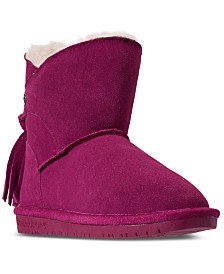 BEARPAW Mia Boots, Big Girls (3.5-7) & Little Girls (11-3) from Finish Line