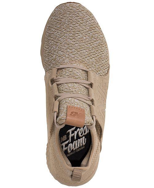 8c9facc923fd4 New Balance Men s Fresh Foam Cruz Running Sneakers from Finish Line ...