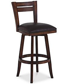 "Bristol 26"" Swivel Counter Stool, Quick Ship"