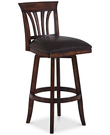 "Madison 30"" Swivel Bar Stool, Quick Ship"