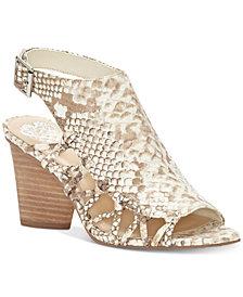 Vince Camuto Ankara Peep-Toe Slingback Sandals