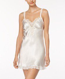 Linea Donatella Satin Midnight Short Chemise