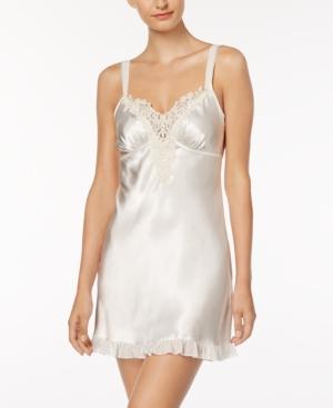 Satin Midnight Short Chemise Nightgown