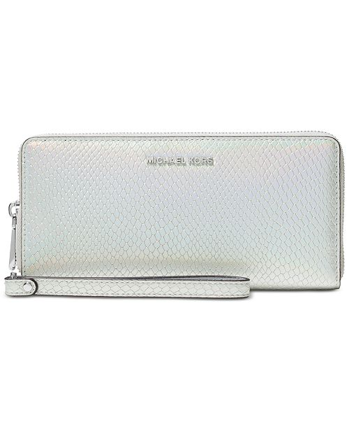 b7b33df857b8 Michael Kors Jet Set Travel Continental Wallet & Reviews - Handbags ...