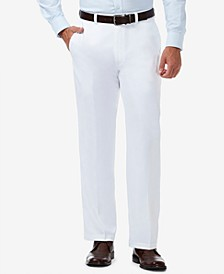 Men's Cool 18 PRO® Classic-Fit Expandable Waist Flat Front Stretch Dress Pants
