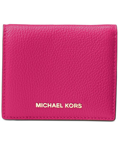 e6713835388d Michael Kors Mercer Flap Card Holder & Reviews - Handbags ...