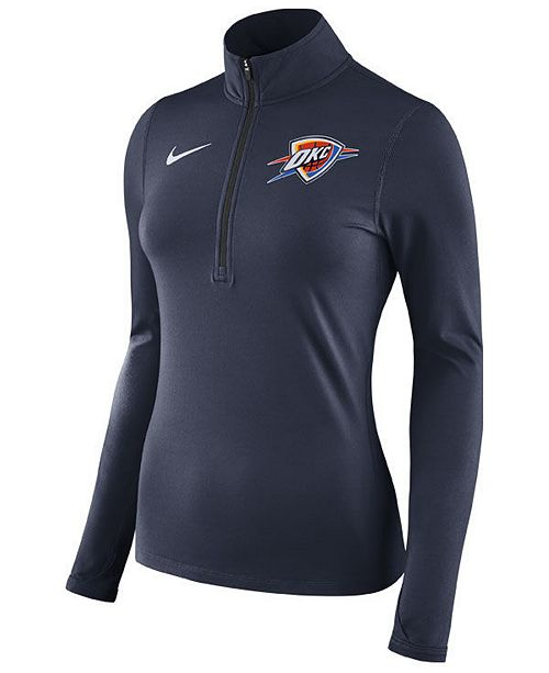 521152864b7 Nike Women s Oklahoma City Thunder Element Pullover   Reviews ...