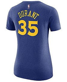 Women's Kevin Durant Golden State Warriors Name & Number Player T-Shirt