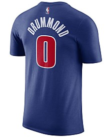 Nike Men's Andre Drummond Detroit Pistons Name & Number Player T-Shirt