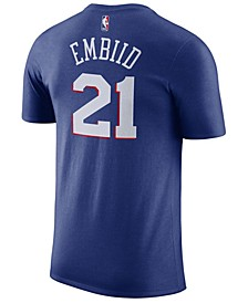 Men's Joel Embiid Philadelphia 76ers Name & Number Player T-Shirt