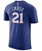 774f288ff54 Nike Men's Joel Embiid Philadelphia 76ers Name & Number Player T-Shirt