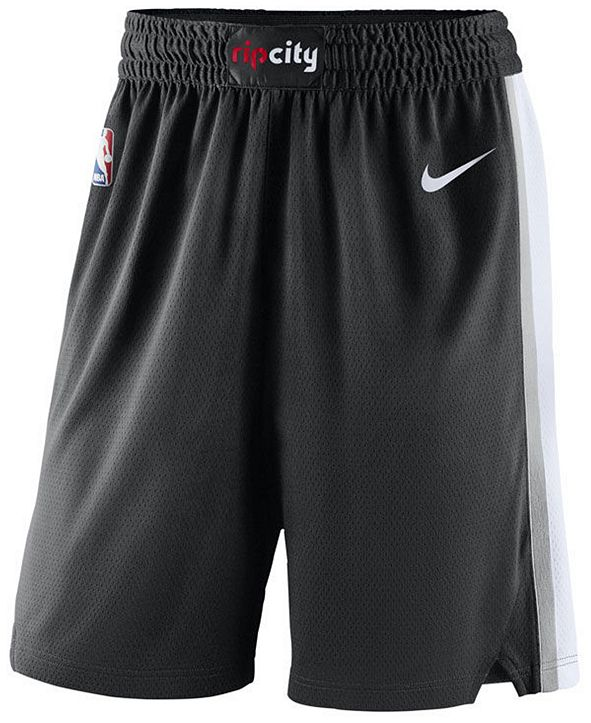 Nike Men's Portland Trail Blazers Icon Swingman Shorts