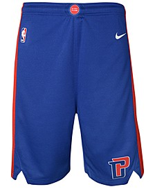 Detroit Pistons Icon Swingman Shorts, Big Boys (8-20)