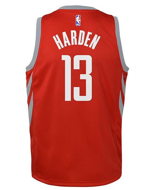 e7cd71471 ... Nike James Harden Houston Rockets Icon Swingman Jersey
