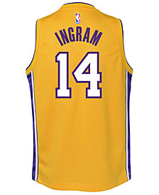 Nike Brandon Ingram Los Angeles Lakers Icon Swingman Jersey, Big Boys (8-20)
