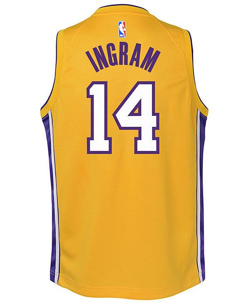 44c342173b1 ... Nike Brandon Ingram Los Angeles Lakers Icon Swingman Jersey