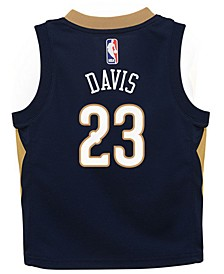 Anthony Davis New Orleans Pelicans Icon Replica Jersey, Toddler Boys (2T-4T)