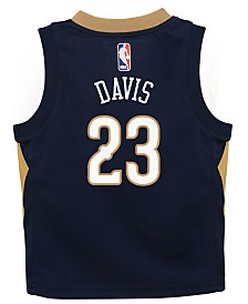 Nike Anthony Davis New Orleans Pelicans Icon Replica Jersey, Toddler Boys (2T-4T)