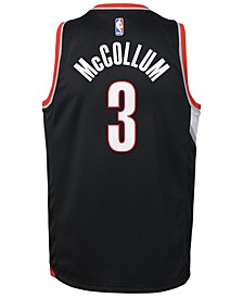 C.J. McCollum Portland Trail Blazers Icon Swingman Jersey, Big Boys (8-20)