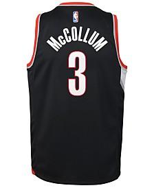 Nike C.J. McCollum Portland Trail Blazers Icon Swingman Jersey, Big Boys (8-20)