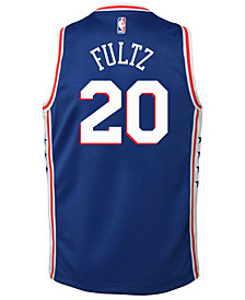 Nike Markelle Fultz Philadelphia 76ers Icon Swingman Jersey, Big Boys (8-20)