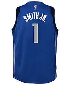 Nike Dennis Smith Jr. Dallas Mavericks Icon Swingman Jersey, Big Boys (8-20)
