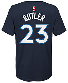 Nike Jimmy Butler Minnesota Timberwolves Icon Name & Number T-Shirt, Big Boys (8-20)
