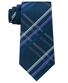 Kenneth Cole Reaction Men's Grid Silk Tie