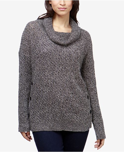 9a5e88ff0c2 Lucky Brand Alyssa Cowl-Neck Sweater   Reviews - Sweaters - Women ...