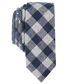 Original Penguin Men's Fermo Check Skinny Tie