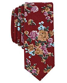 Original Penguin Men's Millard Floral Skinny Tie