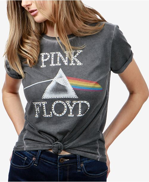 bfedeffc959b0 Lucky Brand Pink Floyd Graphic T-Shirt   Reviews - Tops - Women - Macy s