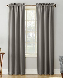 "Preston 40"" x 84"" Rod-Pocket Blackout Curtain Panel"