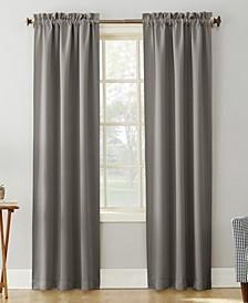 "Preston 40"" x 95"" Rod-Pocket Blackout Curtain Panel"