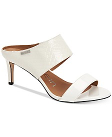 Calvin Klein Women's Cecily Dress Sandals, Created For Macy's
