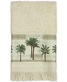 Bacova Citrus Cotton Palm-Print Fingertip Towel