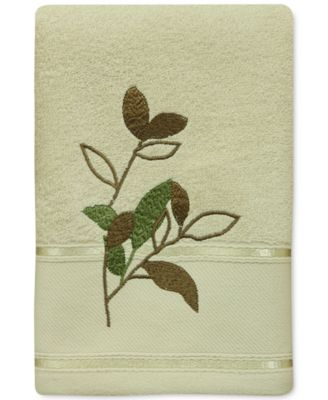 Sheffield Cotton Embroidered Hand Towel