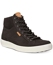 Ecco Men's Soft 7 High Top Sneakers