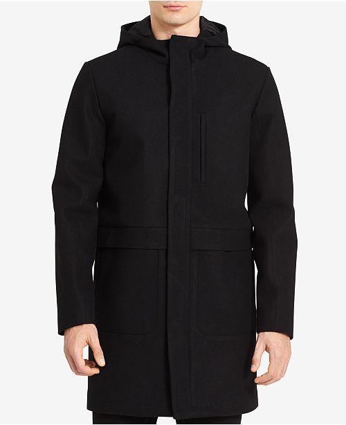 533bb92065f Calvin Klein Men s Merino Wool Jacket   Reviews - Coats   Jackets ...
