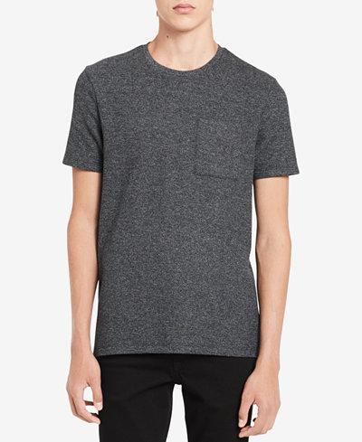 Calvin Klein Men's Heather Pocket T-Shirt