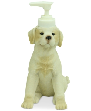 Bacova Live Love Lake Dog Lotion Dispenser Bedding