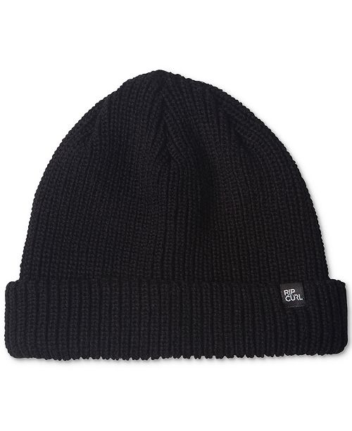 Rip Curl Men s Ribbed Knit Beanie - Hats 67eb9317695