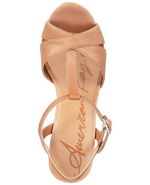 a42ef12294c ... American Rag Jamie T-Strap Platform Dress Sandals