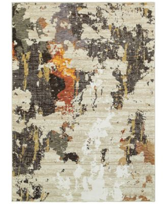"Evolution Cavern 6'7"" x 9'6"" Area Rug"
